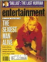 ELLEN BARKIN Entertainment Weekly Magazine 5/3/91 JANINE TURNER BOB COSTAS