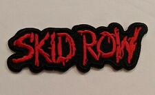 Skid Row Embroidered Iron-on Heavy Metal Band Patch