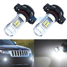 2x 21SMD White LED Fog PSX24W Light Bulbs Lamp For Jeep Grand Cherokee 2011-2012