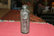 Antique Roosevelt Mineral Works Bottle-EMPTY-Roosevelt NJ-Clear Bottle