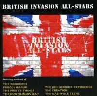 British Invasion All-Stars - British Invasion All-Stars (2007) CD NEW SPEEDYPOST