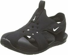 Nike Toddler SUNRAY PROTECT 2 TD Sandals Black/White 943827-001 Sz 4C
