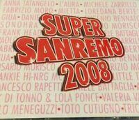 SUPER SANREMO 2008 - DOPPIO CD NUOVO SIGILLATO NUOVO NEW