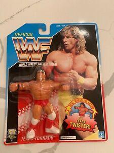 KERRY VON ERICH / TEXAS TORNADO / WWF HASBRO FIGURE MOC / WWE / WCW.