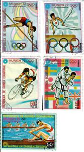 Equatorial Guinea - 1972 Olympic Games - Munich, Germany