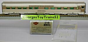 "BROADWAY LTD PARAGON HO DRGW CALIFORNIA ZEPHYR #1130 SLEEPER ""SILVER PASS"" 518"
