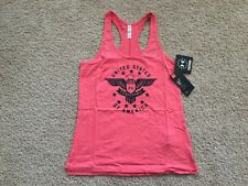 NEW UNDER ARMOUR Eagle Freedom Tank Top women S Pink 1275373