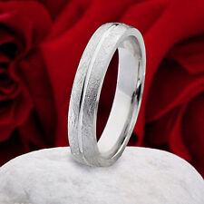 Modeschmuck-Ringe im Ehering-Stil aus Sterlingsilber