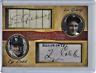 Lou Gehrig Ty Cobb Historic Cuts Dual Facsimile Autographs