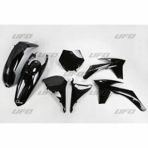 KTM SX 125 250 2011 UFO Plastic Kit Black
