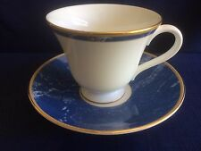 WEDGWOOD Cantate THÉ TASSE & SOUCOUPE (SOUCOUPE A Minor bordure usure)