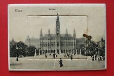 Wien AK 1900-1915 Klappkarte Rathaus Burgtheater Votivkirche Schönbrunn Hofoper