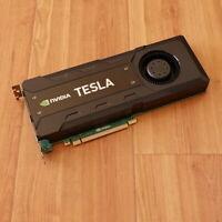 NVIDIA Tesla K40c 12GB GDDR5 PCI-E 3.0 x16 Graphics Accelerator CUDA 744718-001