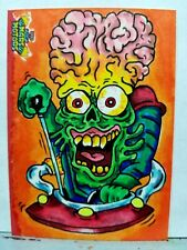 MARS ATTACKS SKETCH CARD MARS MOTORS 2021 ONE OF A KIND TOPPS SCHERES