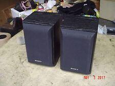 Sony SS-B1000 Black Front Surround Shelf Stereo Speakers 120W
