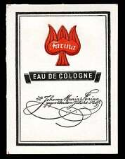 Germany Poster Stamp - Advertising Eau de Cologne by Johann Maria Farina