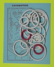 1981 Zaccaria Locomotion pinball rubber ring kit