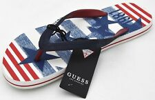GUESS MAN FLIP FLOPS SANDALS SHOES CASUAL FREE TIME RUBBER CODE F92Z03BB00F