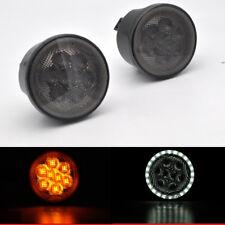 2x Direct Fit LED Daytime Running Light/Turn Signal For 2007-17 Jeep Wrangler JK