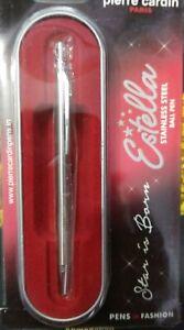 PIERRE CARDIN ESTELLA STEEL BALL PEN WITH GIFT SET BOX FREE S/H