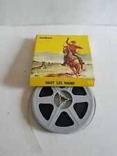 "film super 8 ""Haut les mains"" western Film Office"