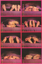 POSTER :  COMICAL : FEET - BACK       - FREE SHIPPING   #10-0623  LW27 i