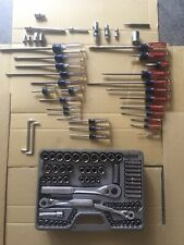 Craftsman Forged In USA 110 Piece Socket Screwdriver Tool Set Lifetime Guarantee