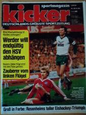 KICKER 28  1.4. 1985 Bayern-Düsseldorf 6:0 Bremen-Schalke 2:1 SB Rosenheim DM