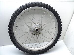 #4003 Kawasaki KD175 KD 175 Aluminum Front Wheel & Tire