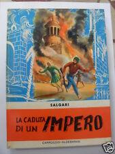 SALGARI CADUTA DI UN IMPERO CARROCCIO-ALDEBARAN 1958