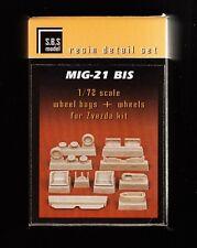 sb708/ S.B.S. model - MiG-21 bis - Fahrwerk detail set - Resin - 1/72 - TOPP