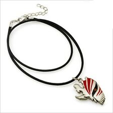 Bleach Ichigo Half Face Hollow Mask Necklace Pendant Fashion Anime Cosplay