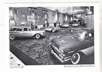 "*Postcard-""Auto Show"", 1958- @ The Washington's, D.C.'s Mayflower Hotel (A89-2)"