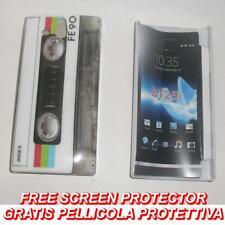 Pellicola+custodia BACK COVER RIGIDA FE90 per Sony Xperia U ST25I