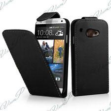 ACCESSORIES CASE COVER COVERS FOLDING BLACK FAUX LEATHER HTC DESIRE 601 ZARA