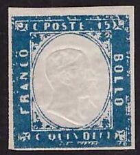 REGNO D'ITALIA 1863 - 15 c. n. 11c NUOVO SPL A.DIENA € 300