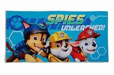 EXTRA LARGE - Paw Patrol Blue Beach Bath Towel Boys Kids Swimming Holiday Gift