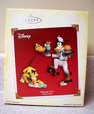 2005 Hallmark Disney Goofy & Pluto, Order Up!, Mickey Mouse Collection
