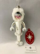 Christopher Radko - Italian Mouth Blown Glass Ornament - Ice Charms #1011944