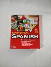 Learn to Speak Spanish Complete Language Learning Solution 2001