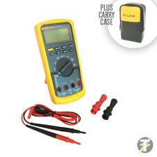 Fluke 83V True RMS Industrial AC DC 1000V Voltage Digital Multimeter with Case