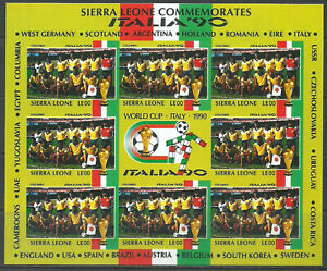 Colombia - Imperf Proof Without Value Italy World Cup Football Soccer MNH