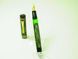 NOS Vintage German SENATOR Celluloid Edition Pistonfiller Fountain Pen M Nib