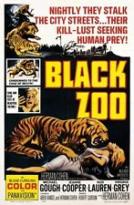 BLACK ZOO MOVIE POSTER Seeking Human Prey RARE HOT NEW - PRINT IMAGE PHOTO -G10