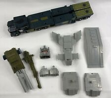 Vtg 1980s Transformers G1 Combaticons Bruticus Onslaught Hasbro Near Complete