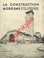 La construction moderne 1934 Bains Callou Thermal Vichy Cinéma Eldorado Paris