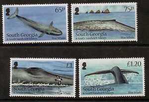 S.GEORGIA&S.SANDWICH SG566/9 2012 BLUE WHALE MNH