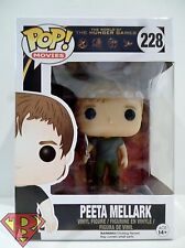 "PEETA MELLARK The Hunger Games Pop Movies 4"" Vinyl Figure #228 Funko 2015"
