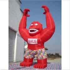 20ft Inflatable Red Gorilla Advertising Promotion with Blower BI