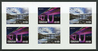 Faroes Faroe Islands 2018 MNH Bridges Europa 6v S/A Booklet Architecture Stamps
